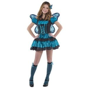 Twinkle Fairy Girls Costume Juniors Medium 7 To 9